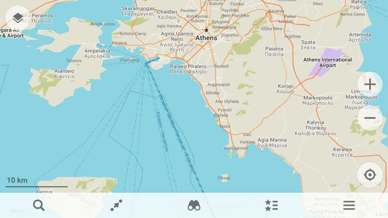 map app for greece