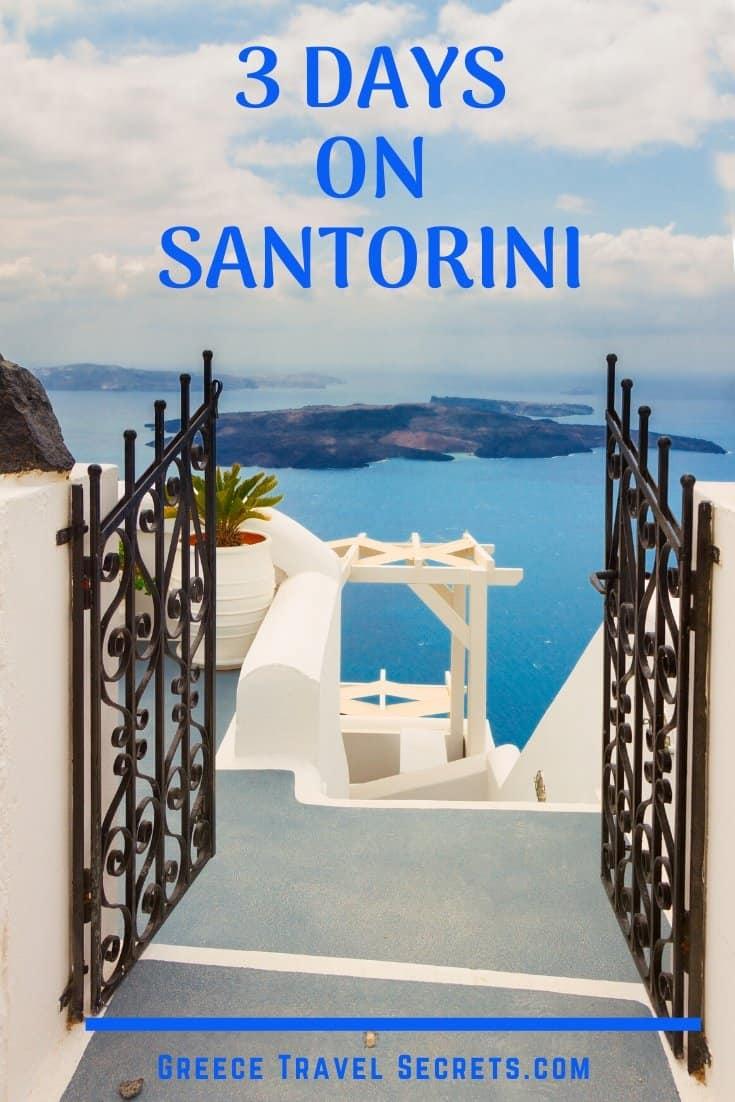 santorini gate