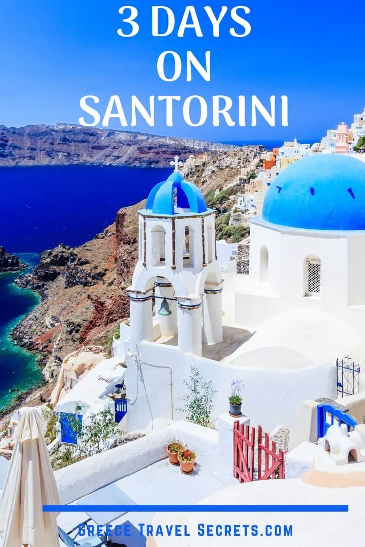 santorini itinerary
