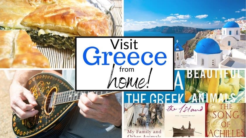Virtual Greece: How to visit Greece from home