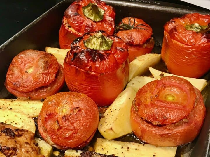 greek stuffed vegetables