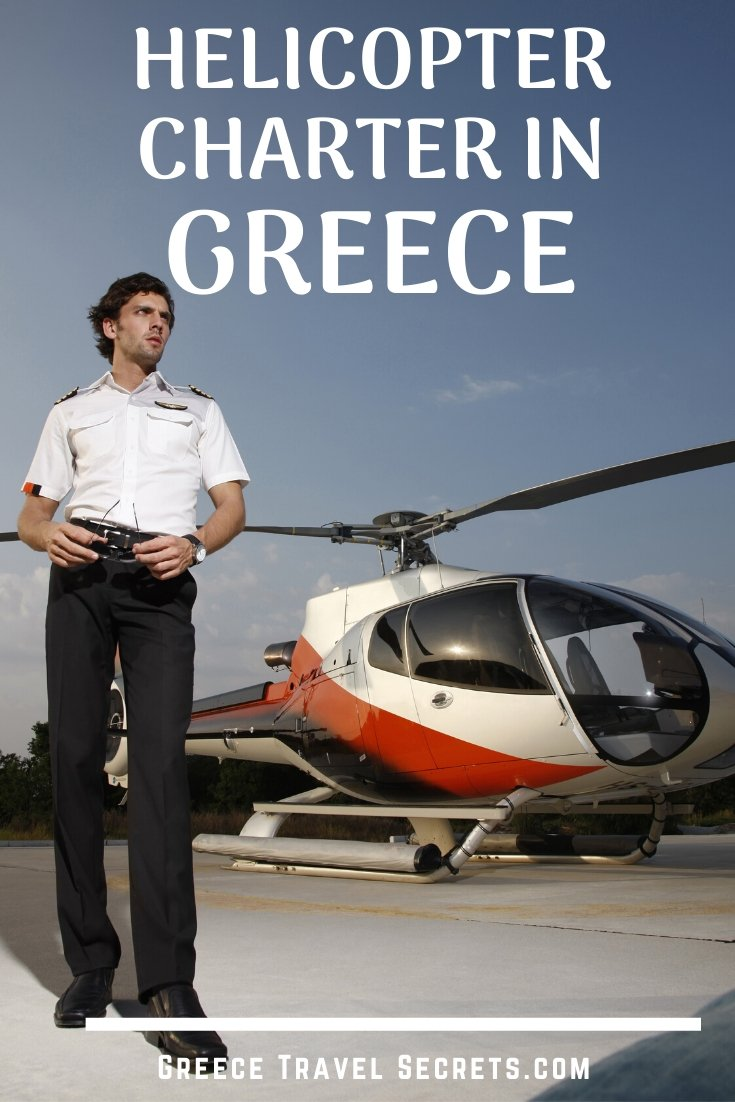 helicopter charter greece