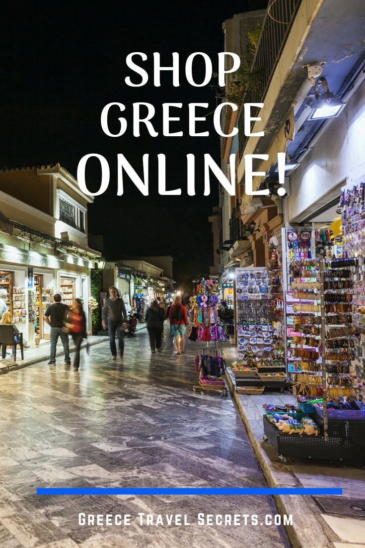 shopping in greece