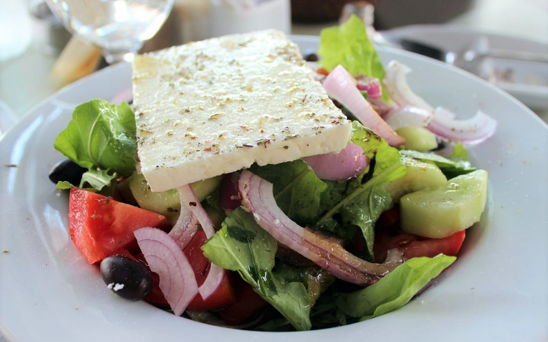How to make Greek Horiatiki Salad ( Greek Salad)