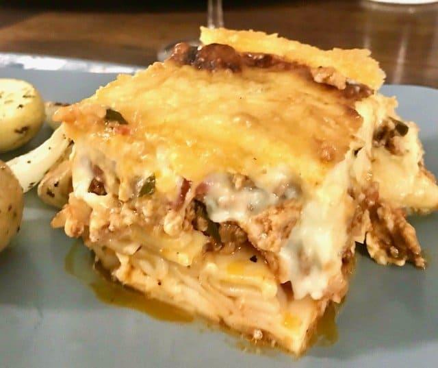 greek lasagna recipe