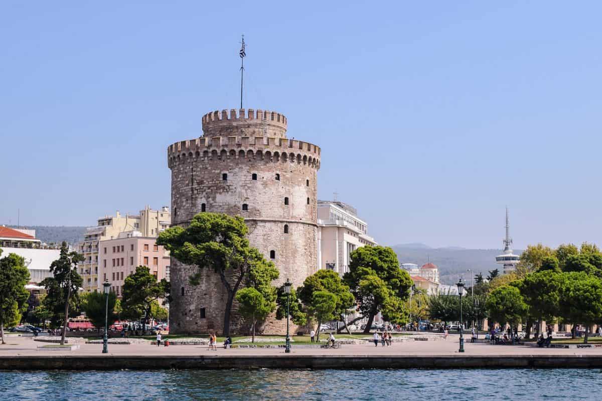 thessaloniki fort