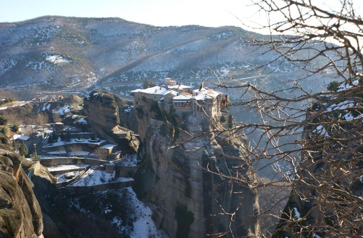 winter in greece